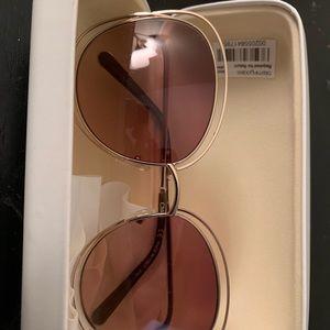 Chloe Carlina oversized sunglasses (barely worn)